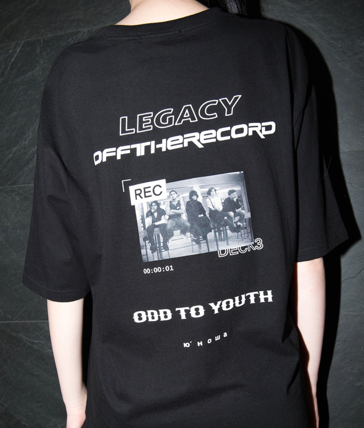 Off the Record Message Top(Black)