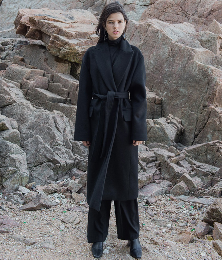 LONG COAT (Wool 90%)