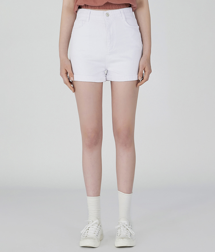 Roll-up  Short Cotton Pants