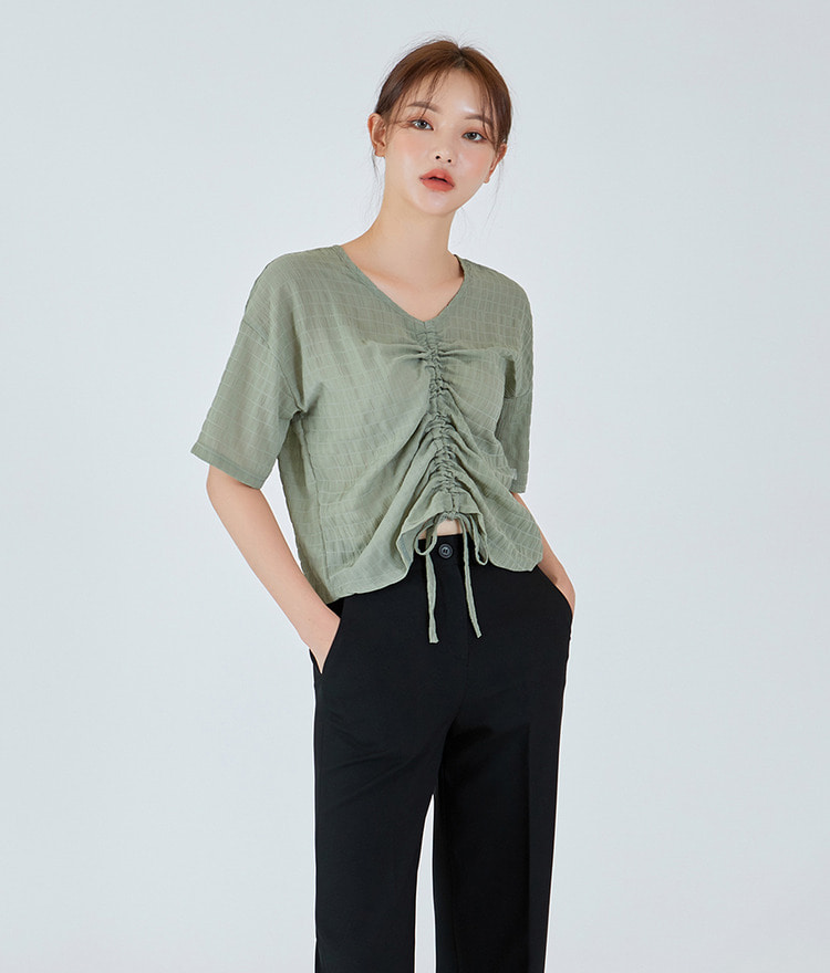 Cookie String Cool Blouse
