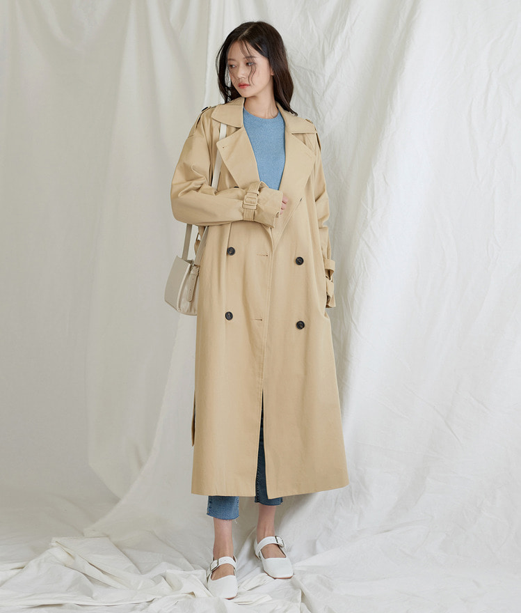 Essay Overfit Trench Coat