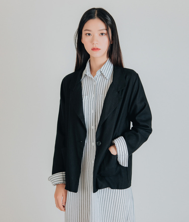 Basic Standard Fit Jacket