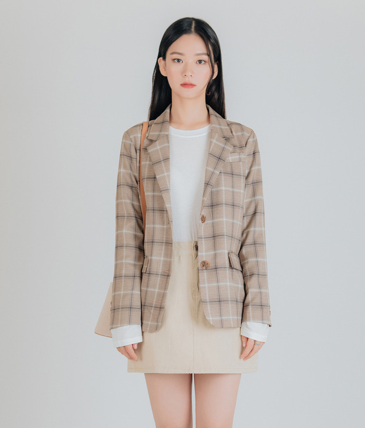 Million Checked Jacket