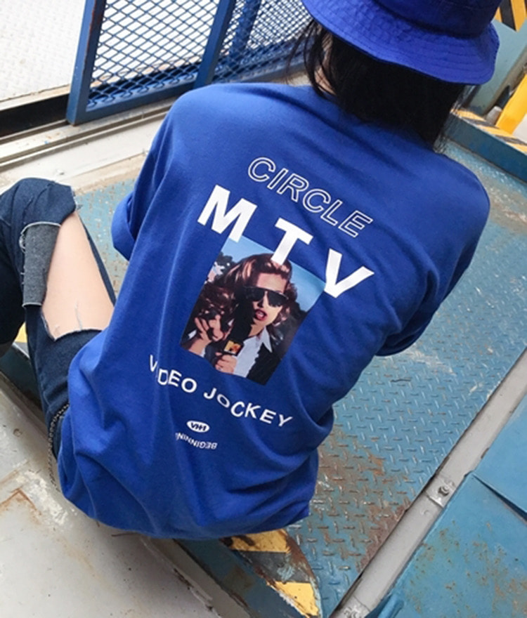 HIDE MTV Overfit T-Shirt